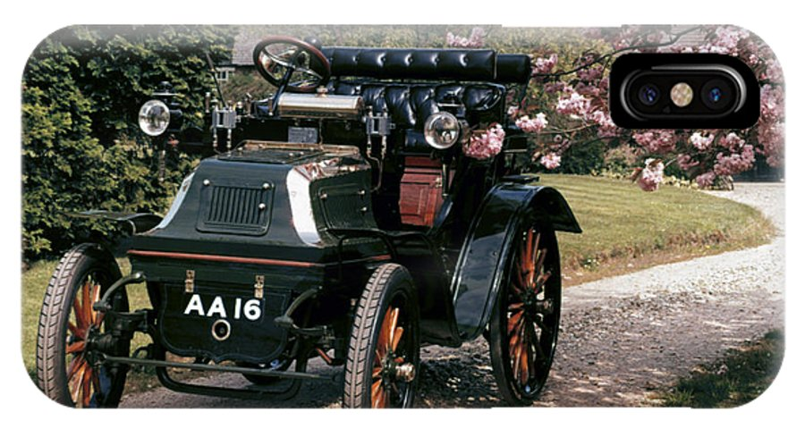1899 IPhone X Case featuring the photograph Auto: Daimler, 1899 by Granger
