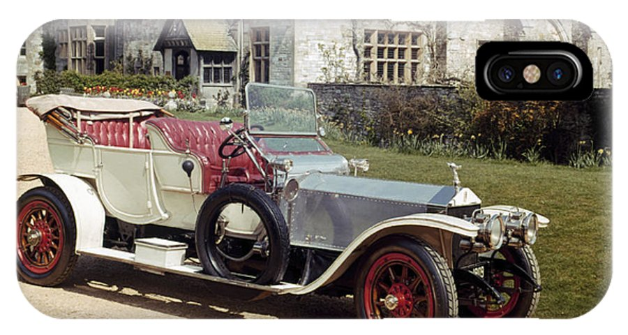 1909 IPhone X Case featuring the photograph Auto: Rolls-royce, 1909 by Granger