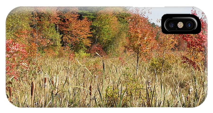 Autumn IPhone X / XS Case featuring the photograph Autumn In New England by Kim Galluzzo Wozniak
