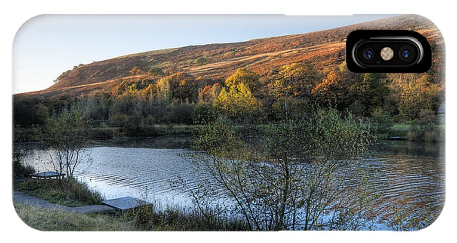Autumn Pond IPhone X Case featuring the photograph Autumn Pond 3 by Steve Purnell