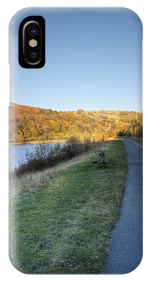Autumn Pond IPhone X Case featuring the photograph Autumn Pond 5 by Steve Purnell