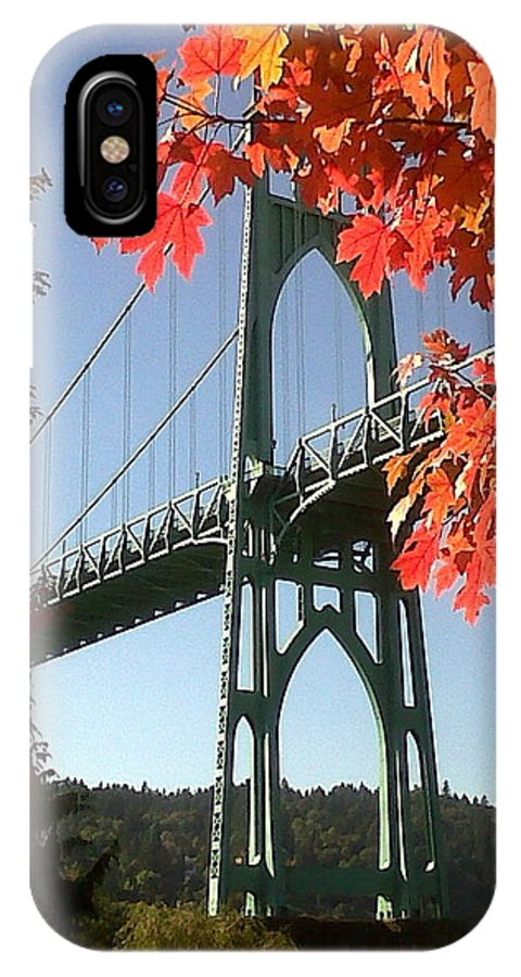 Oregon IPhone X / XS Case featuring the photograph Autumn by Quin Sweetman