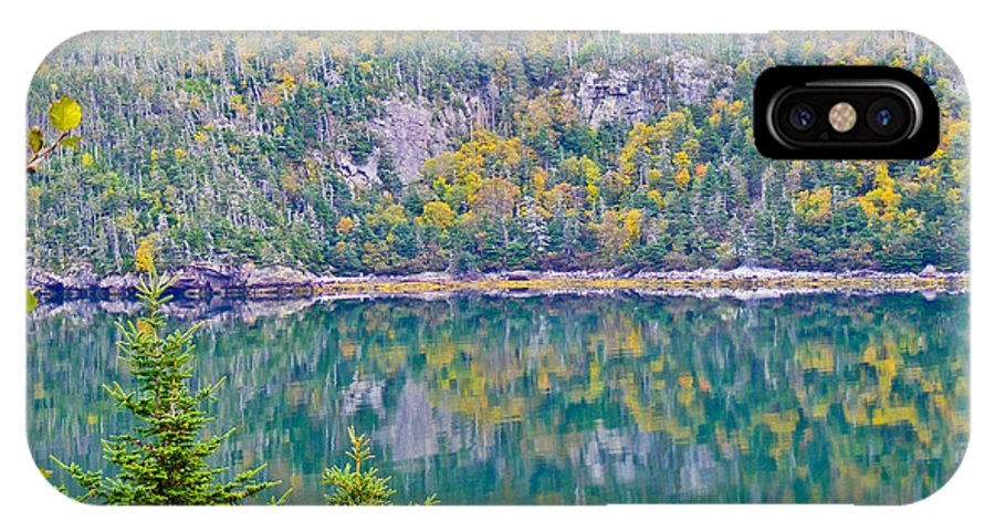 Autumn IPhone X Case featuring the photograph Autumn Reflections by Barbara Griffin