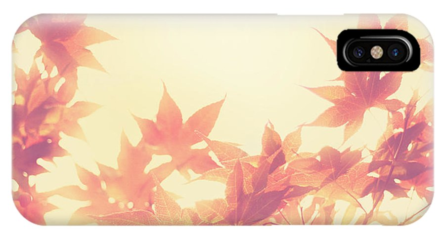 Autumn IPhone X Case featuring the photograph Autumn Sky by Amy Tyler