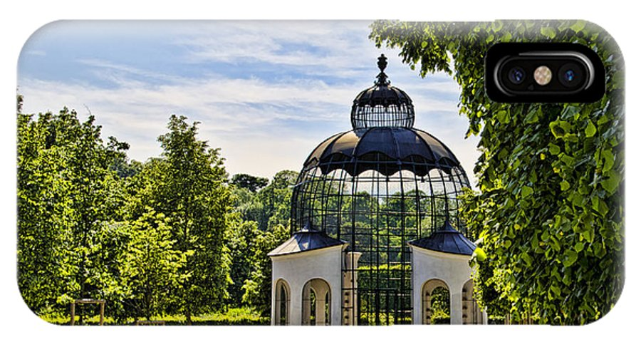 Schonbrunn Palace IPhone X Case featuring the photograph Aviary At Schonbrunn Palace by Jon Berghoff