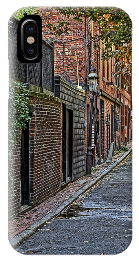 Boston IPhone X Case featuring the photograph Back Bay 01 by Jeff Stallard