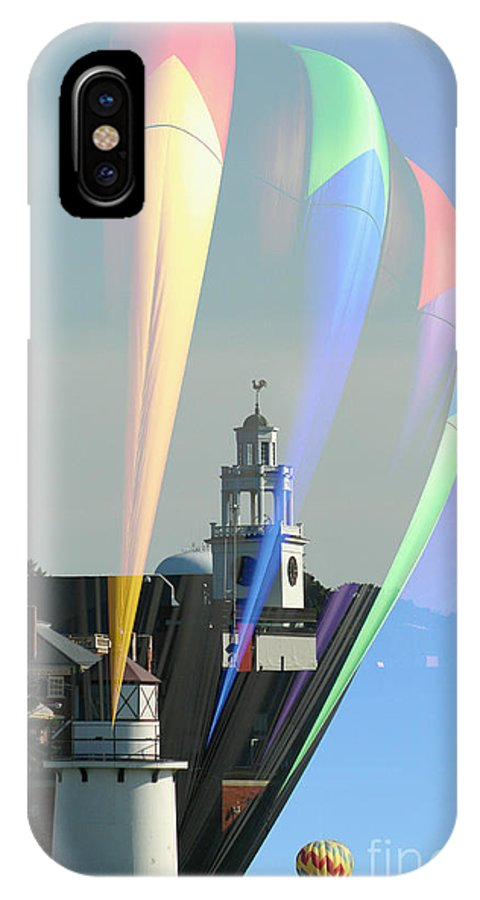 Balloon IPhone X Case featuring the photograph Balloon Light by Linda Jackson