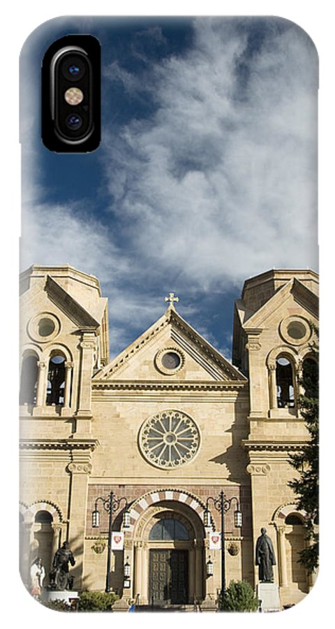 America IPhone X Case featuring the photograph Basilica Of St Francis by Gloria & Richard Maschmeyer