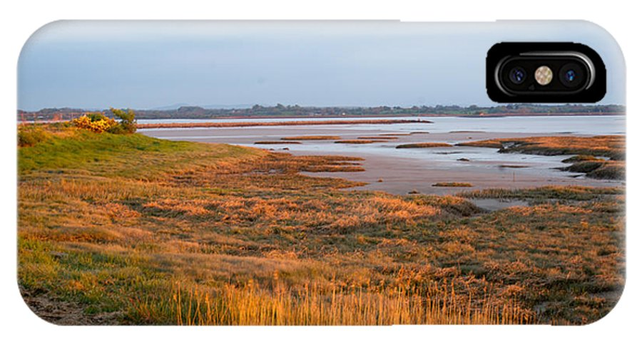 Bay IPhone X Case featuring the photograph Bay At Shannon Airport Ireland 2 by Douglas Barnett