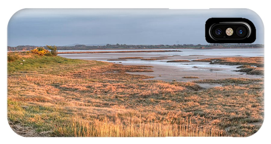 Bay IPhone X Case featuring the photograph Bay At Shannon Airport Ireland 4 by Douglas Barnett