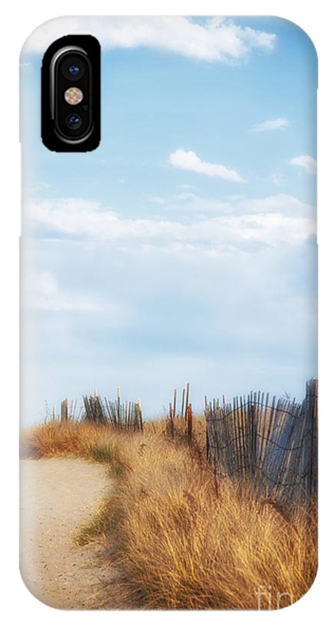 Sand IPhone X Case featuring the photograph Beach Walkway by Ruth H Curtis