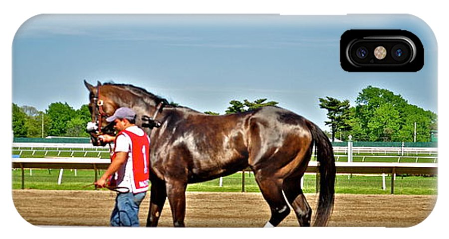Monmouth Park IPhone X / XS Case featuring the photograph Beautiful Bay by Catherine Conroy