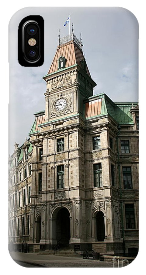 Building IPhone X / XS Case featuring the photograph Beautiful Front by Christiane Schulze Art And Photography