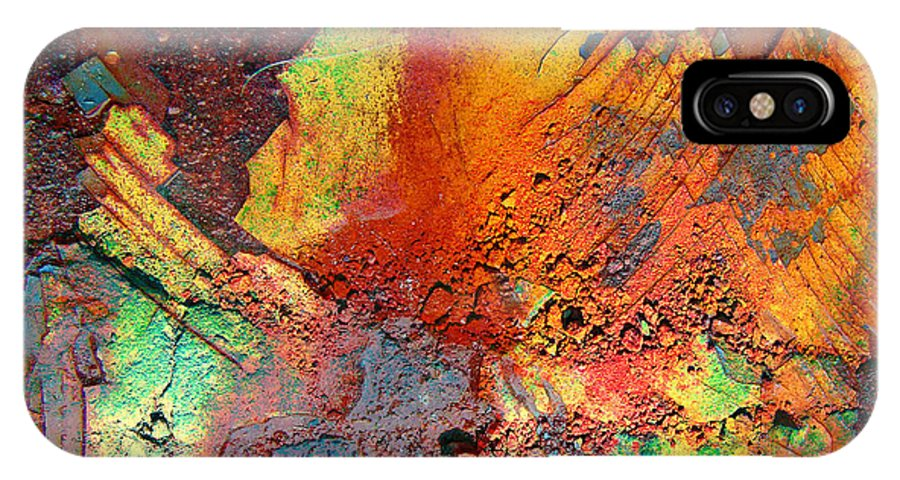 Rust IPhone X Case featuring the photograph Beauty Between by The Artist Project