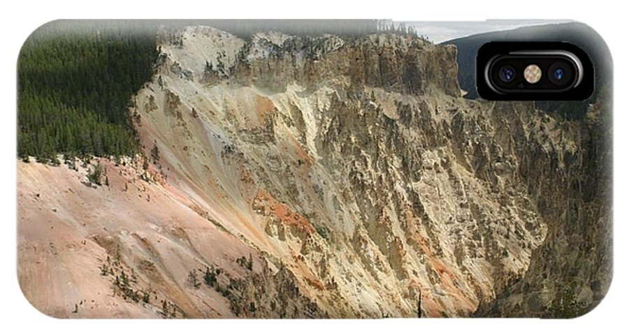 Grand Canyon IPhone X Case featuring the photograph Beauty Of The Grand Canyon In Yellowstone by Living Color Photography Lorraine Lynch