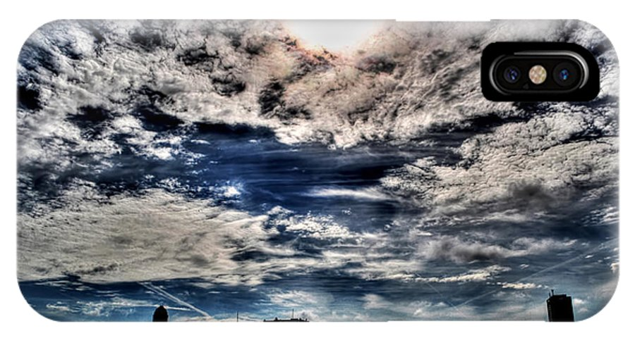 IPhone X Case featuring the photograph Beauty Of The Morning Sky by Michael Frank Jr