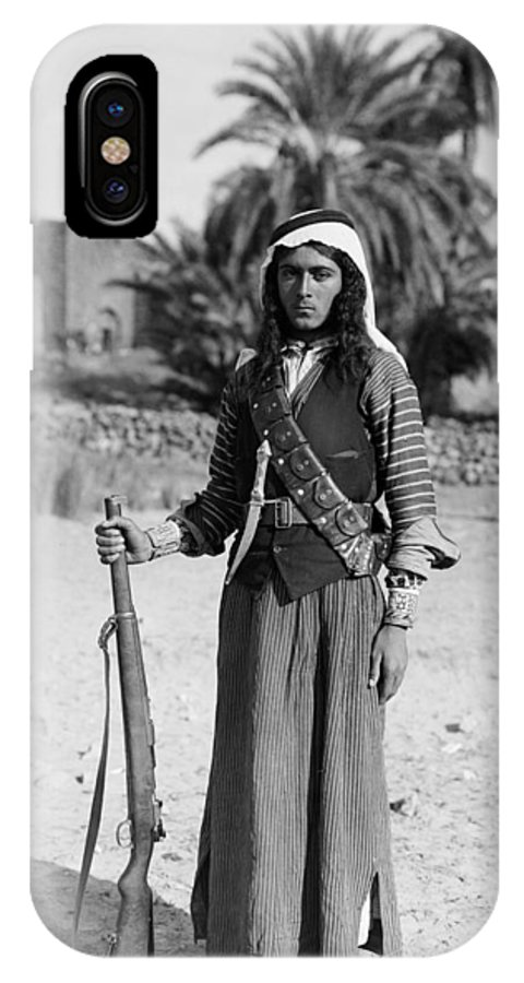 1926 IPhone X Case featuring the photograph Bedouin Youth, C1926 by Granger