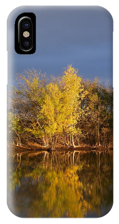 Autumn IPhone X Case featuring the photograph Before The Storm by Gale Cochran-Smith