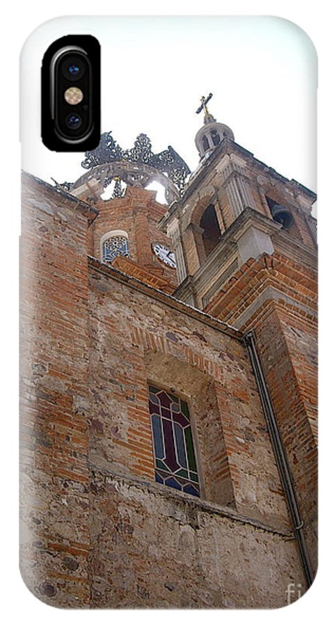 Aimee Mouw IPhone X Case featuring the photograph Bell Tower Of Our Lady Of Guadalupe by Aimee Mouw