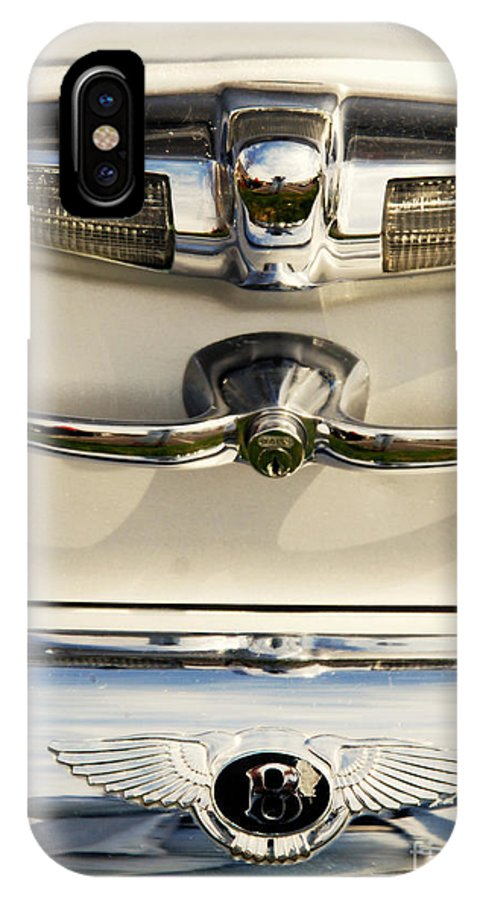 Bentley IPhone X Case featuring the photograph Bentley Details by Susanne Van Hulst