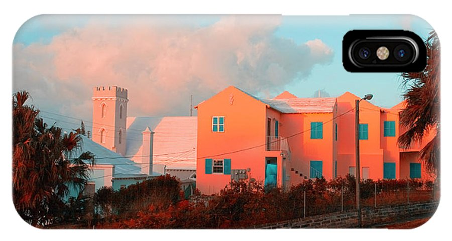 Bermuda IPhone X Case featuring the photograph Bermuda Colors by Tom Singleton