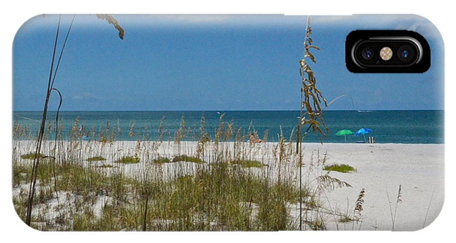 Beach IPhone X / XS Case featuring the photograph Best Beach Day Ever by Carol Bradley