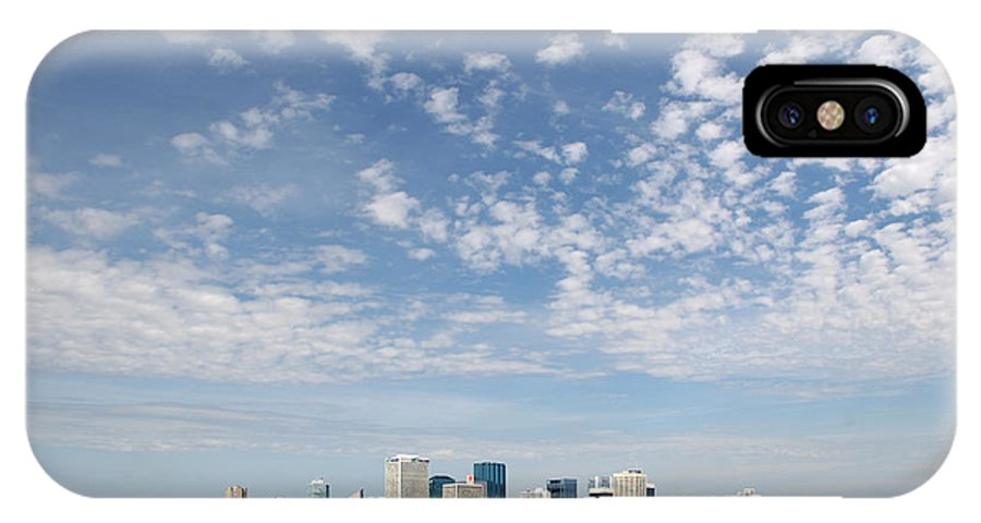 City IPhone X Case featuring the photograph Big Sky Yeg by Stan Kwong