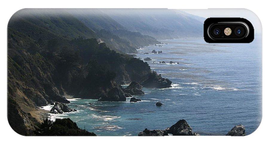 Big Sur IPhone X Case featuring the photograph Big Sur by Jan Cipolla
