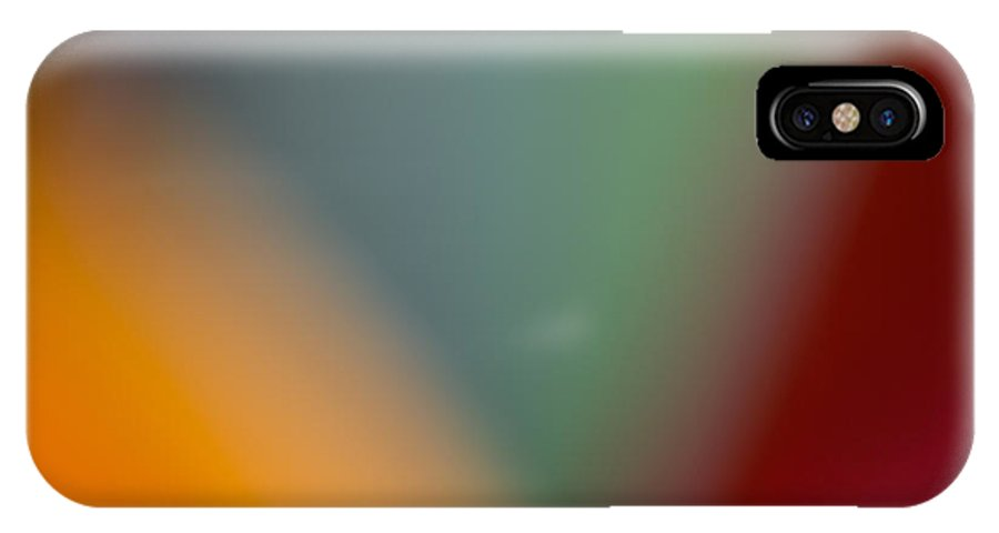 Flowers IPhone X Case featuring the photograph Bird Of Paradise Abstract 2 by Roger Mullenhour
