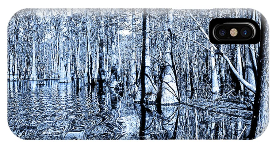 Blue Bayou IPhone X Case featuring the photograph Blue Bayou by Dominic Piperata
