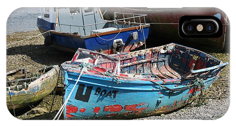 Boat IPhone X Case featuring the photograph Boat 0003 by Carol Ann Thomas