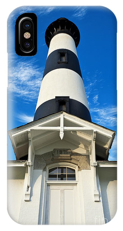 Bodie Island Lighthouse IPhone X Case featuring the photograph Bodie Island Lighthouse by John Greim