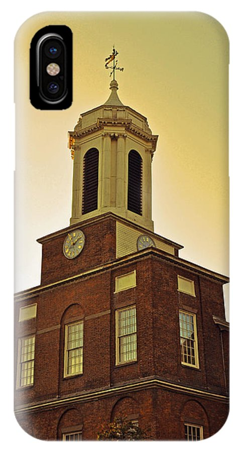Boston IPhone X / XS Case featuring the photograph Boston Church by Brittany Horton