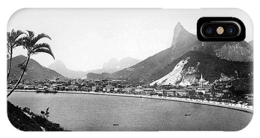 20th Century IPhone X Case featuring the photograph Brazil: Rio De Janeiro by Granger