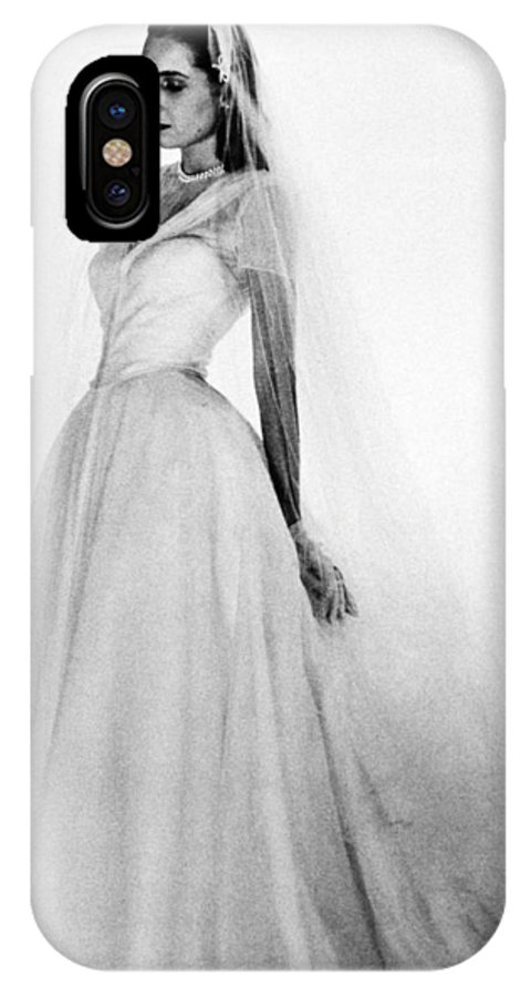 1947 IPhone X / XS Case featuring the photograph Bridal Gown, 1947 by Granger