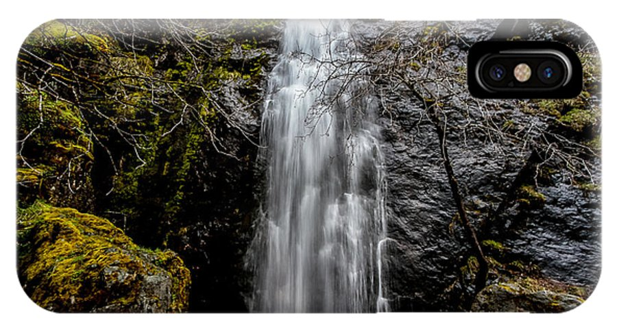 Bridal Veil Falls IPhone X Case featuring the photograph Bridal Veil Falls by Mitch Shindelbower