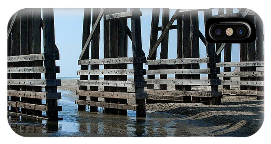 Sandra Bronstein IPhone X Case featuring the photograph Bridge Detail by Sandra Bronstein