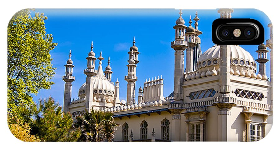England IPhone X Case featuring the photograph Brighton Royal Pavillion - England by Jon Berghoff
