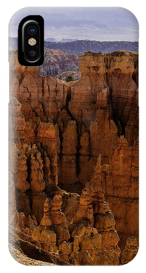Landscape IPhone X Case featuring the photograph Bryce Canyon 01 by Jo-Anne Gazo-McKim