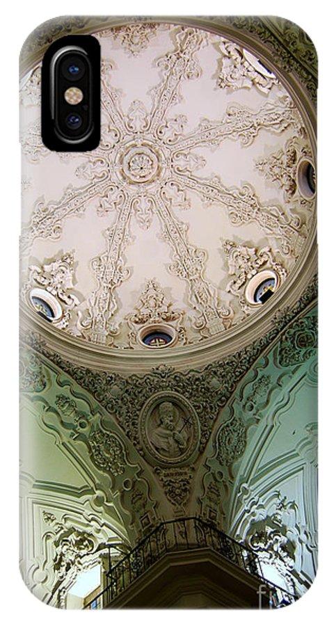 Cadiz IPhone X Case featuring the photograph Cadiz Spain Church by Eva Kaufman
