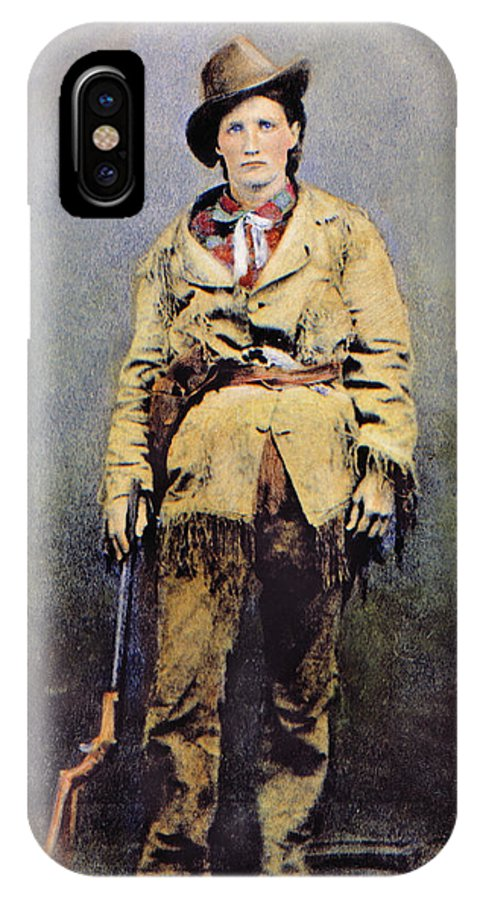 1895 IPhone X Case featuring the photograph Calamity Jane (c1852-1903) by Granger