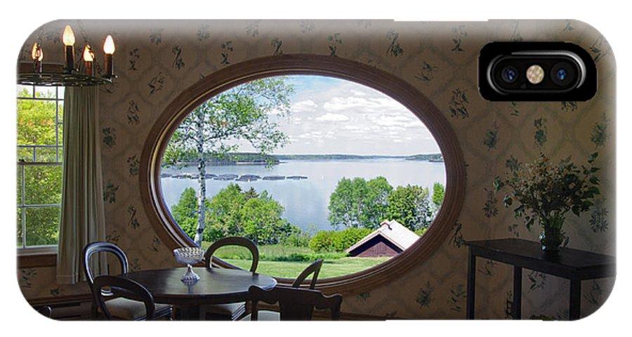Campobello Island IPhone X Case featuring the photograph Campobello Island Roosevelts House by Glenn Gordon