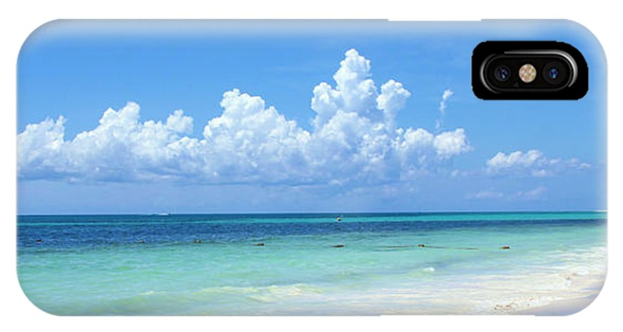 Cancun IPhone X / XS Case featuring the photograph Cancun Beach by Jack Schultz