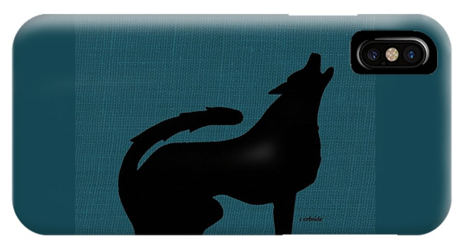 Nature IPhone X Case featuring the photograph Canine by Chris Berry