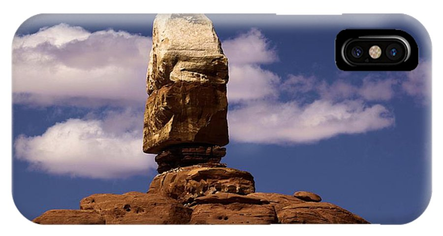 Canyonlands National Park IPhone X Case featuring the photograph Canyonlands Santa Claus by Adam Jewell