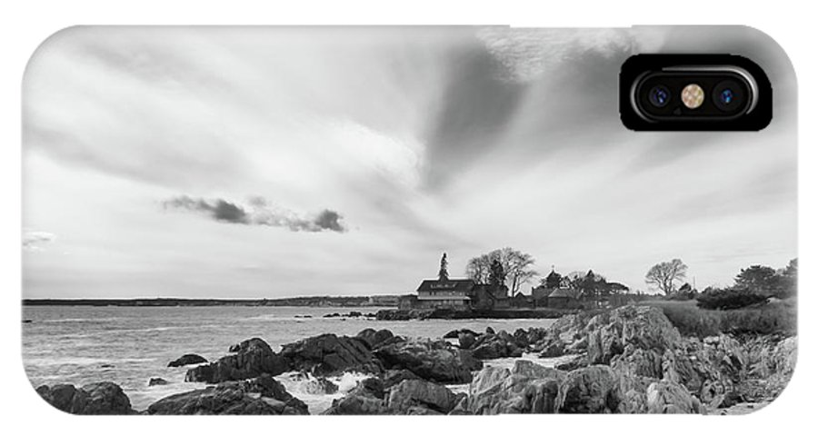 Guy Whiteley Photography IPhone X Case featuring the photograph Cape Arundel 4715 by Guy Whiteley