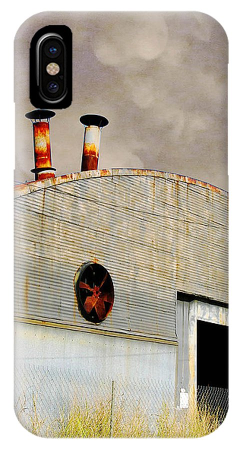 Warehouse IPhone X Case featuring the digital art Carolina St Goner by Lizi Beard-Ward