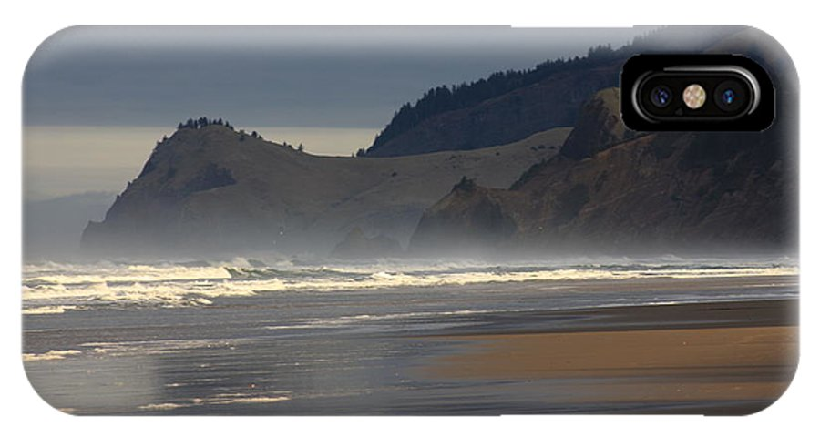 Oregon Coast IPhone X Case featuring the photograph Cascade Head by John McManus