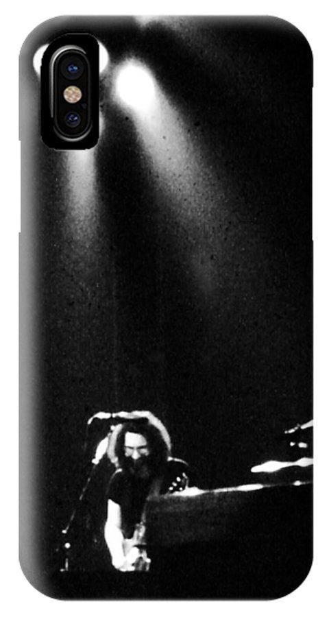 Concert IPhone X Case featuring the photograph Casey Jones by Susan Carella