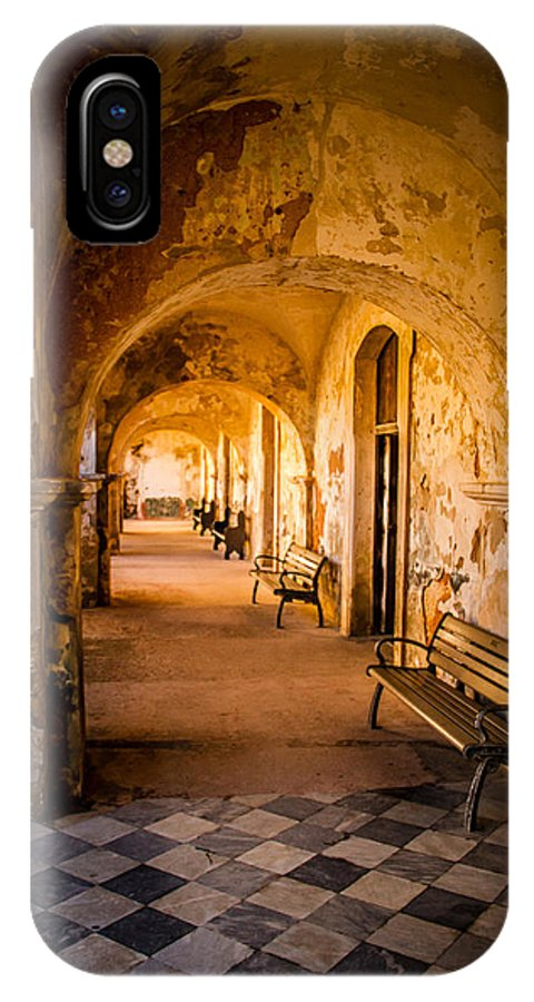 Spanish Fort IPhone X Case featuring the photograph Castillo De San Cristobal by Randy Wood